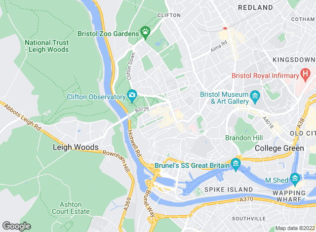 Map for Hydes of Bristol, Clifton- Sales, Lettings & Property Management