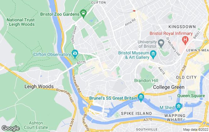 Map for Bradley & Sadler Estate Agents , Clifton