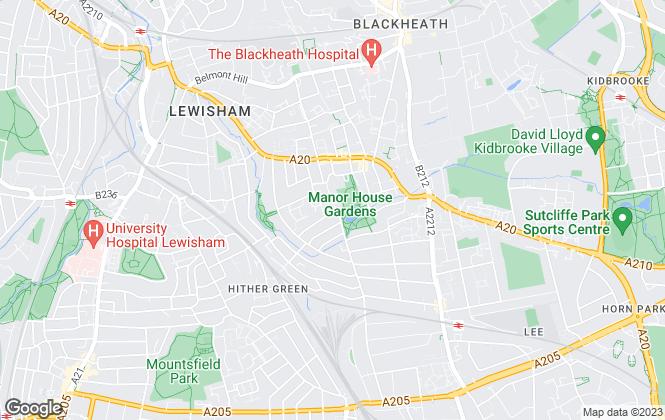 Map for Prime Residential, London