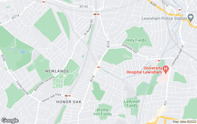 Map for Kinleigh Folkard & Hayward - Sales, Brockley