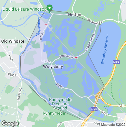 Map of property in Wraysbury