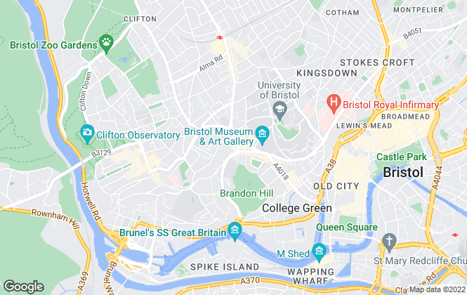 Map for CBRE Limited (Bristol), CBRE Bristol - Offices