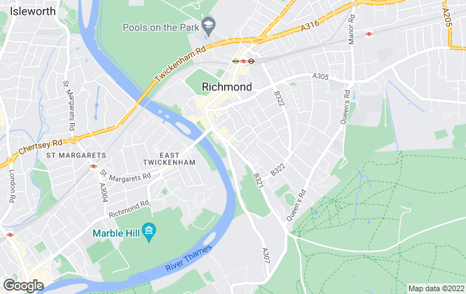 Map for Aspect Property Consultants LLP, Richmond