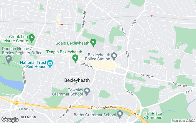 Map for Robinson Jackson, Bexleyheath Lettings