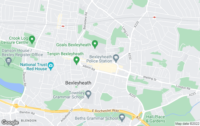 Map for Robinson Jackson, Bexleyheath