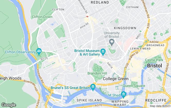 Map for John James, Bristol
