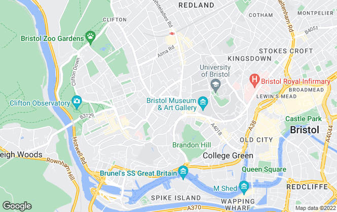 Map for John James, Bristol