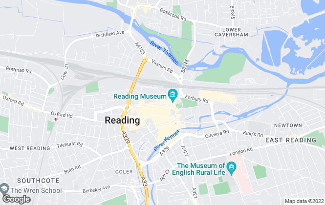 Map for Samuel James Properties, Reading