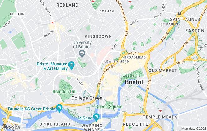 Map for Burston Cook, Bristol