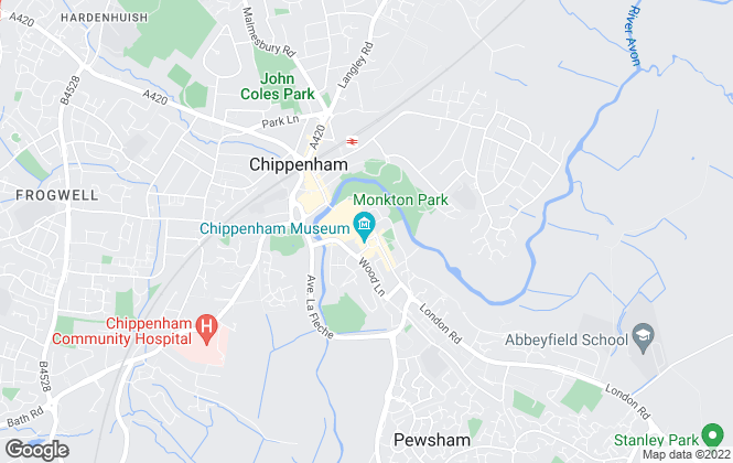 Map for Goodman Warren Beck, Chippenham