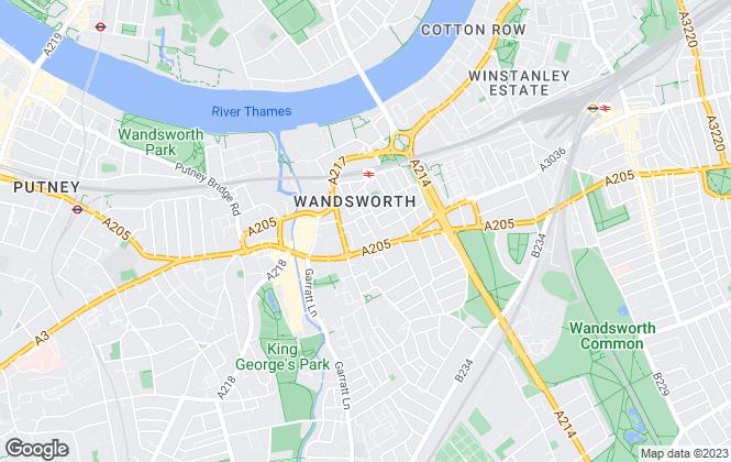 Map for Lewis Hampton Management Ltd, Salford