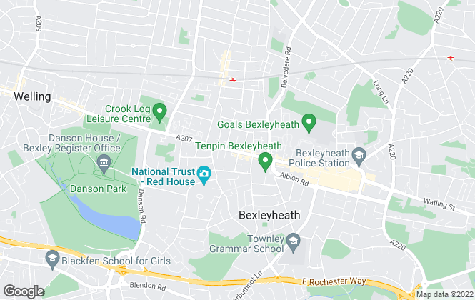 Map for Apex Residential, Bexleyheath, Kent