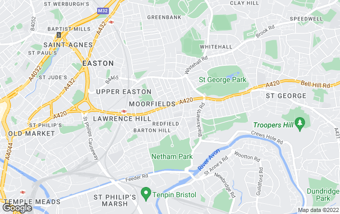 Map for House + Co Property, Bristol