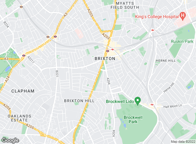 Map for Eden Harper , Brixton