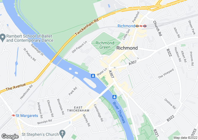 Map for The Printworks, Retreat Road, Richmond, Greater London TW9 1NN