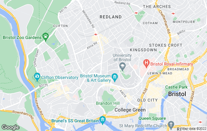 Map for Knight Frank, Bristol - Commercial