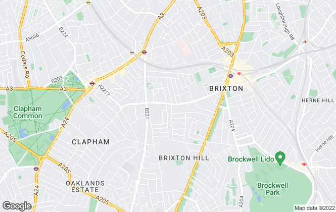 Map for Beresford Residential, Brixton - Lettings
