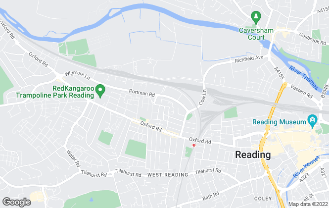 Map for Bellway Homes (Thames Valley)
