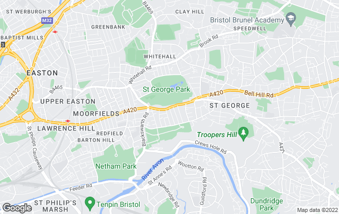 Map for Winkworth Properties, Bristol