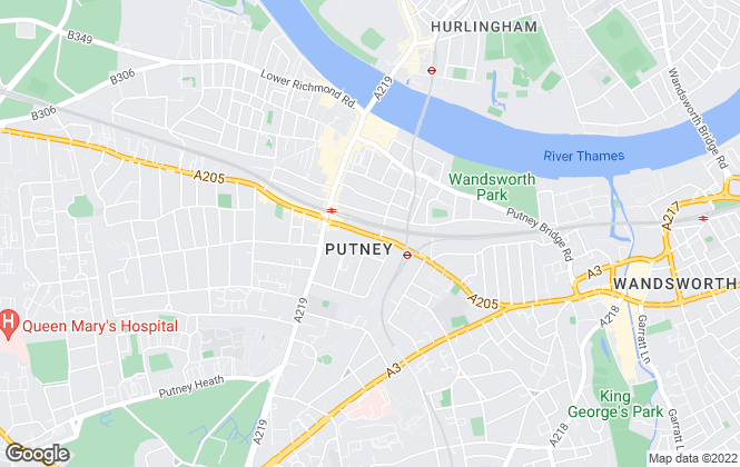 Map for Century 21 Putney, Putney