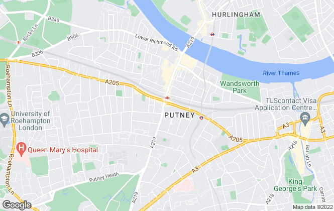 Map for Chestertons Estate Agents , Putney Lettings
