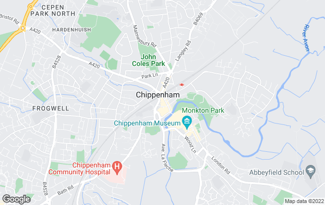 Map for Michael Antony, Chippenham