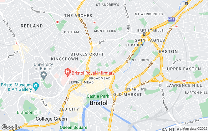 Map for Ad Hoc Property Management Ltd, Bristol & Cardiff