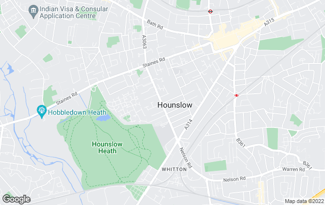 Map for Diamond Move Estate Agents, Hounslow