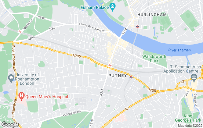 Map for RE/MAX Exclusive, Putney