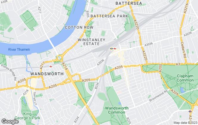 Map for Langford Lettings Ltd , London