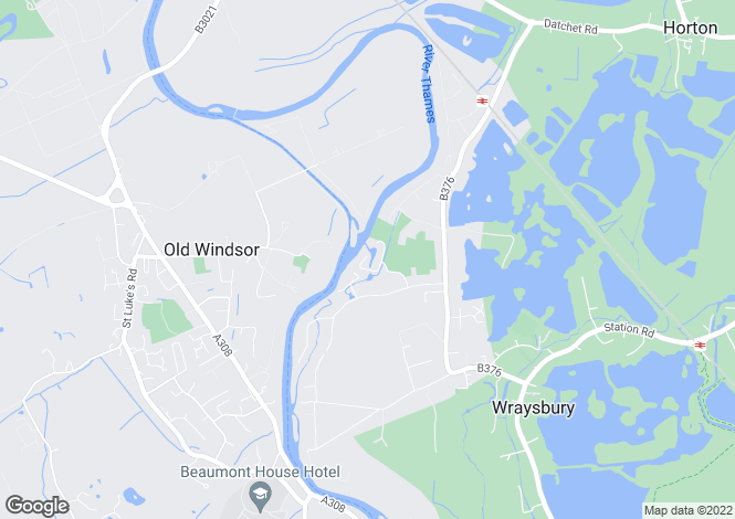 Map for Kingswood Creek, Wraysbury