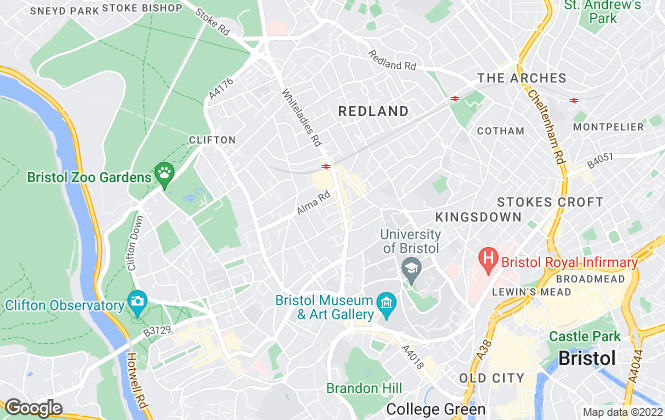 Map for AA Residential, Bristol