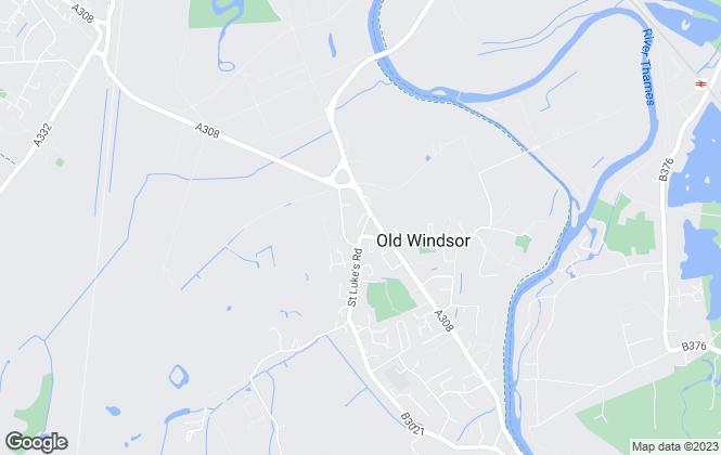 Map for Oakwood Estates, Old Windsor