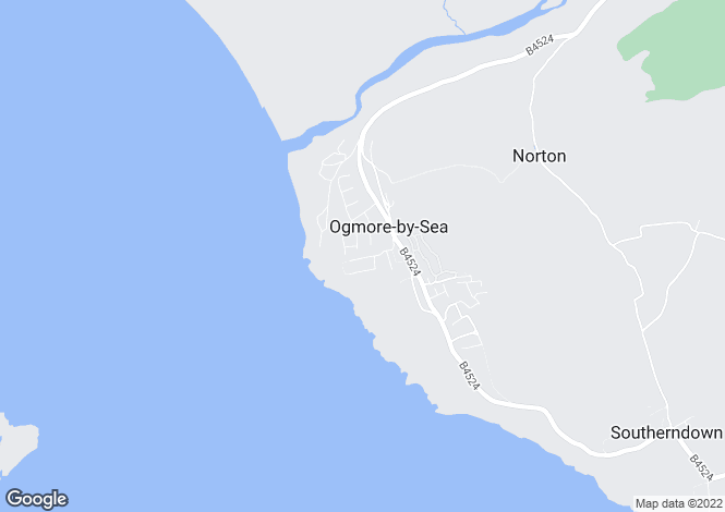 Map for Craig Yr Eos  Road, Ogmore By Sea, Vale Of Glamorgan, CF32 0PG