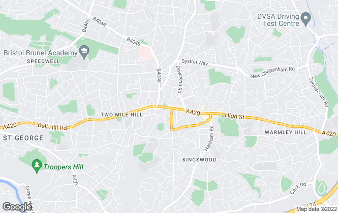 Map for Attwoods Estate & Letting Agents, Kingswood
