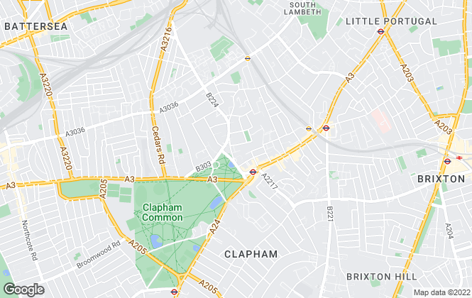 Map for CB Williams Property, London