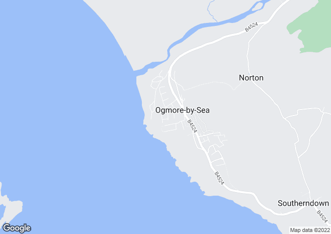 Map for 30 Marine Drive, OGMORE BY SEA, Vale of Glamorgan, CF32 0PJ