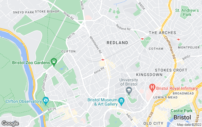 Map for Bristol Residential Letting Co, Bristol