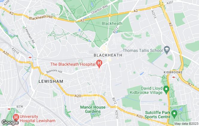 Map for John David Estate Agents, London