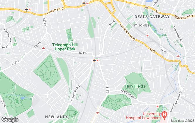 Map for Conran Estates, Conran Estates Brockley
