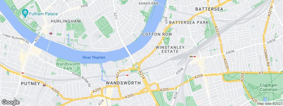 Map for St George Developments Ltd