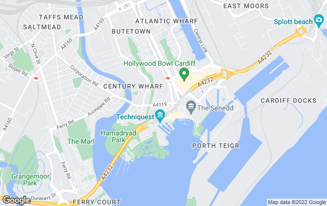 Map for CPS Homes, Cardiff - Letting