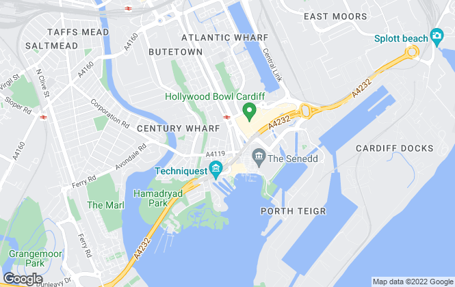 Map for CS Properties, Cardiff - Lettings