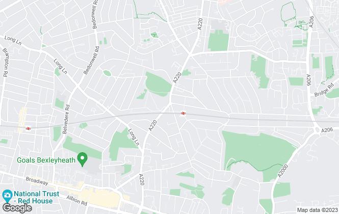 Map for Robinson Jackson, Barnehurst