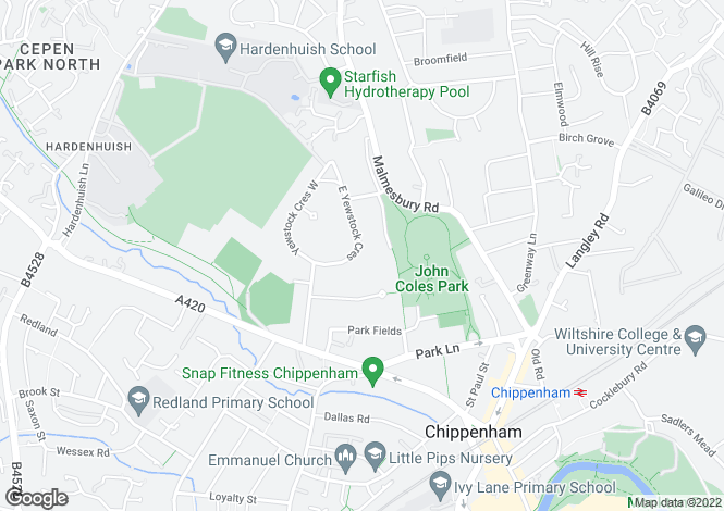 Map for Portal Close, Chippenham