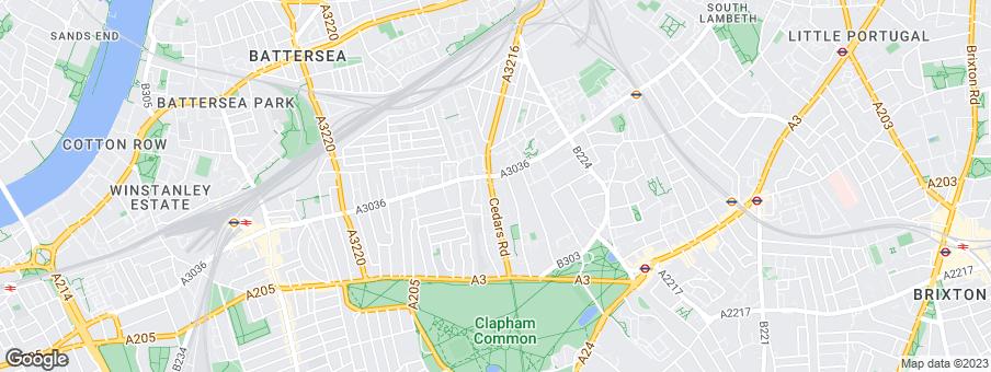 Map for Sheen Lane Developments