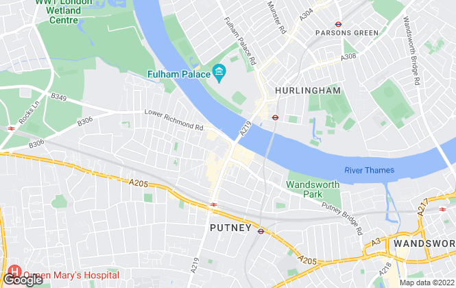 Map for riverhomes, South West London Office