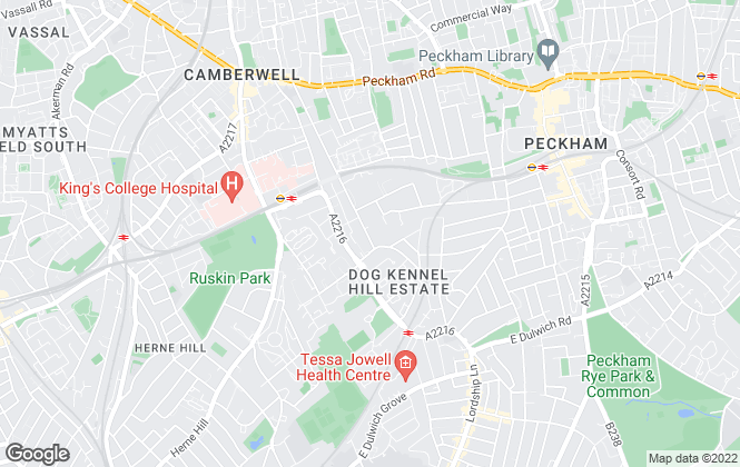 Map for Noflies, London