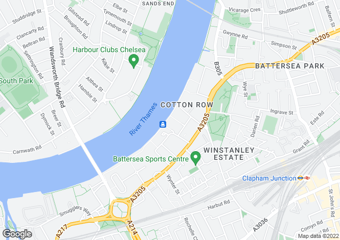 Map for Calico House, Plantation Wharf, Battersea, SW11
