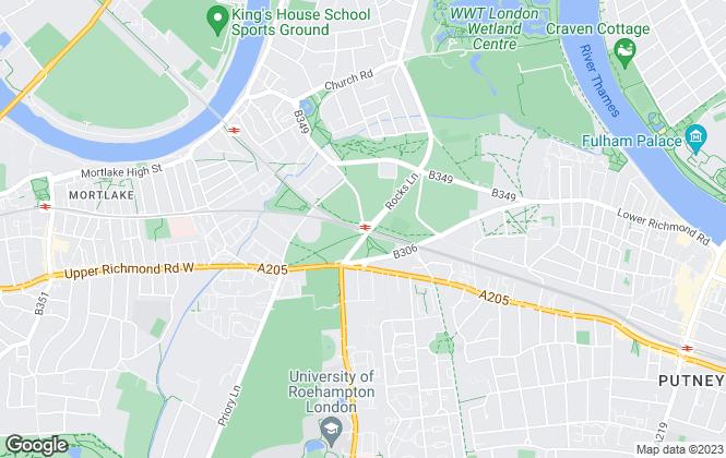 Map for Penham Portfolio Management, Barnes